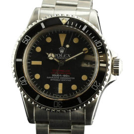 Rolex Sea-Dweller 1665 Double Red Mark IV Stainless Steel Vintage Watch