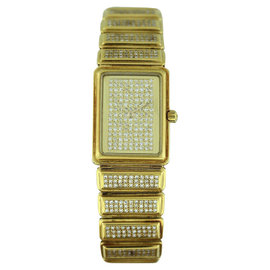 Vacheron Constantin Classic Diamond & 18K Yellow Gold 26mm Womens Watch