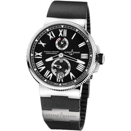 Ulysse Nardin Marine Chronometer Manufacture 1183-122-3/42 45mm Watch