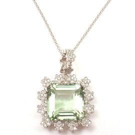 Pasquale Bruni 18K White Gold Marilyn Diamond Gem Necklace