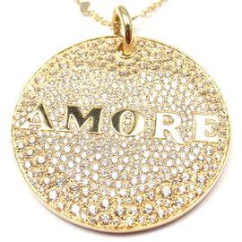 Pasquale Bruni 18K Yellow Gold Diamond Necklace