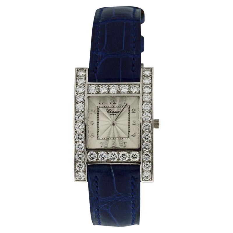 """Image of """"Chopard Your Hour 18K White Gold With Diamonds Womens Watch"""""""
