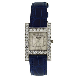 Chopard Your Hour 18K White Gold With Diamonds Womens Watch