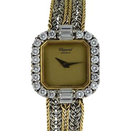 Chopard Classiques 18K Yellow & White Gold 20mm Womens Watch