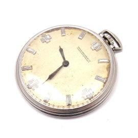 Patek Philippe Platinum Diamond Pocket Vintage 1900'S Watch