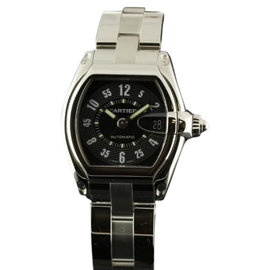 Cartier Roadster W62004V3 Automatic Stainless Steel Black Mens Watch