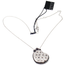 Pasquale Bruni 18K White Gold Lulu Diamond Pendant Necklace