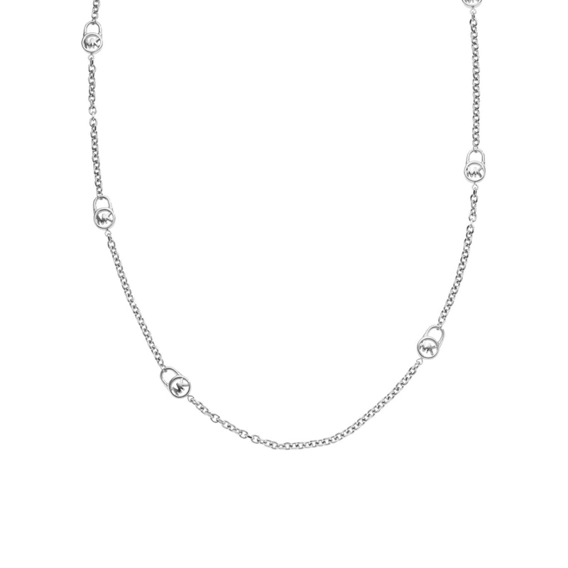 "Image of ""Michael Kors Stainless Steel Necklace"""