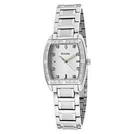 Bulova 96R162 Highbrdge Diamond Bezel Womens Watch