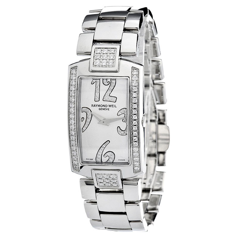 "Image of ""Raymond Weil 1800-St2-05383 Stainless Steel Mother of Pearl and"""
