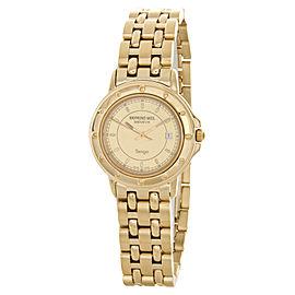 Raymond Weil 5360G-CH Geneve Gold Stainless Steel Bracelet Watch