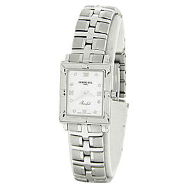 Raymond Weil Parsifal Diamond Mother Of Pearl Dial Ladies Watch