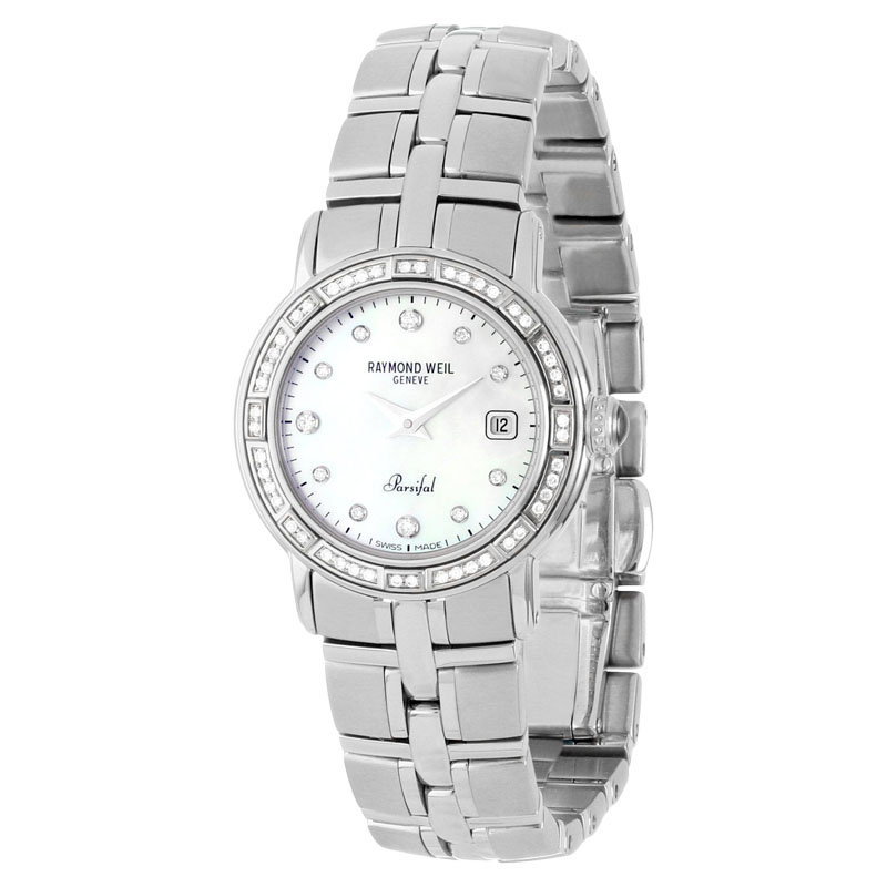 "Image of ""Raymond Weil 9441-Sts-9708 Parsifal Stainless Steel Diamond Quartz"""