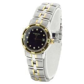 Raymond Weil Parsifal Black Diamond Dial Ladies Two-tone Watch