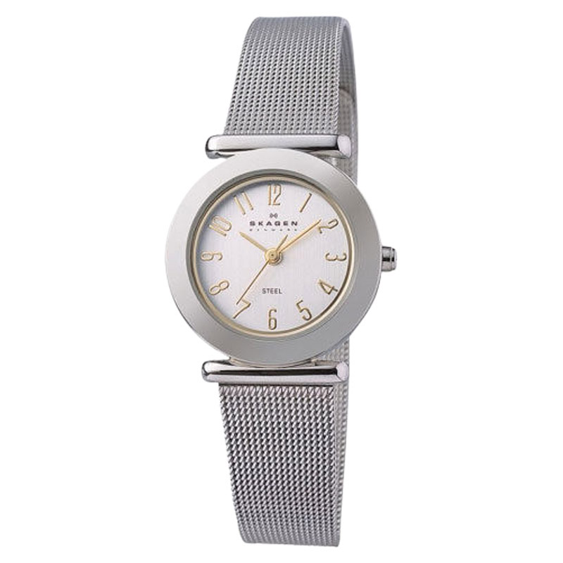 "Image of ""Skagen 107Sgsc Steel Collection Mesh Stainless Steel Women's Watch"""