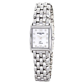 Raymond Weil 5874S/PD Tosca Mother of Pearl Diamond Dial Ladies Watch
