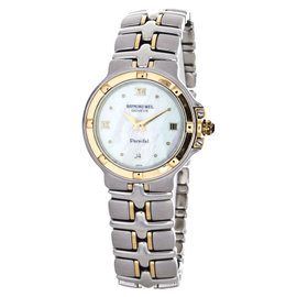 Raymond Weil 9990/P Parsifal Mother of Pearl Diamond Dial Ladies Watch