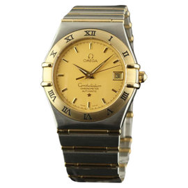 Omega Constellation 1202.10 Steel Yellow Gold Automatic 36mm Watch