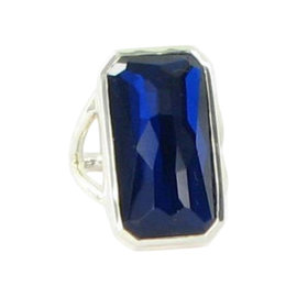 Ippolita Burton Blue & 925 Sterling Silver Ring
