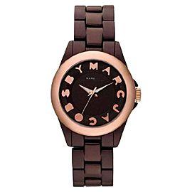 Marc by Marc Jacobs MBM3527 Bubble Rose Gold Tone Bezel Quartz Womens Watch
