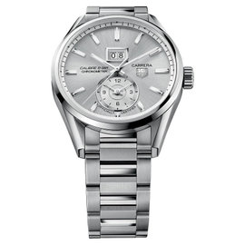 Tag Heuer WAR5011.BA0723 Carrera Automatic GMT Stainless Steel Watch