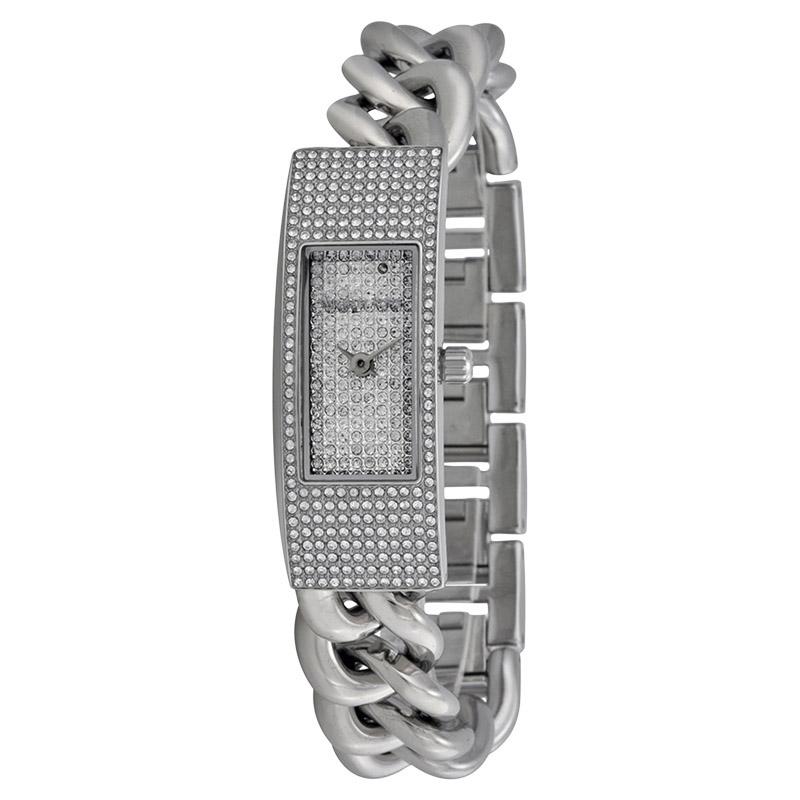 "Image of ""Michael Kors Mk3305 Twist Silver Dial Stainless Steel Women's Watch"""