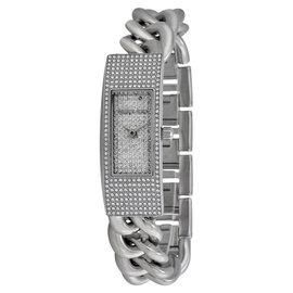 Michael Kors MK3305 Twist Silver Dial Stainless Steel Women's Watch