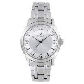 Bulova 96A000 Stainless Steel Mens Watch