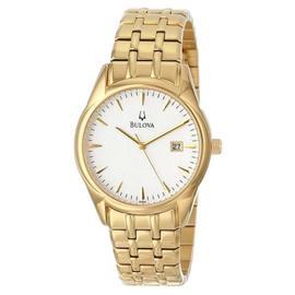 Bulova 97B109 Silver White Dial Bracelet Men's Watch
