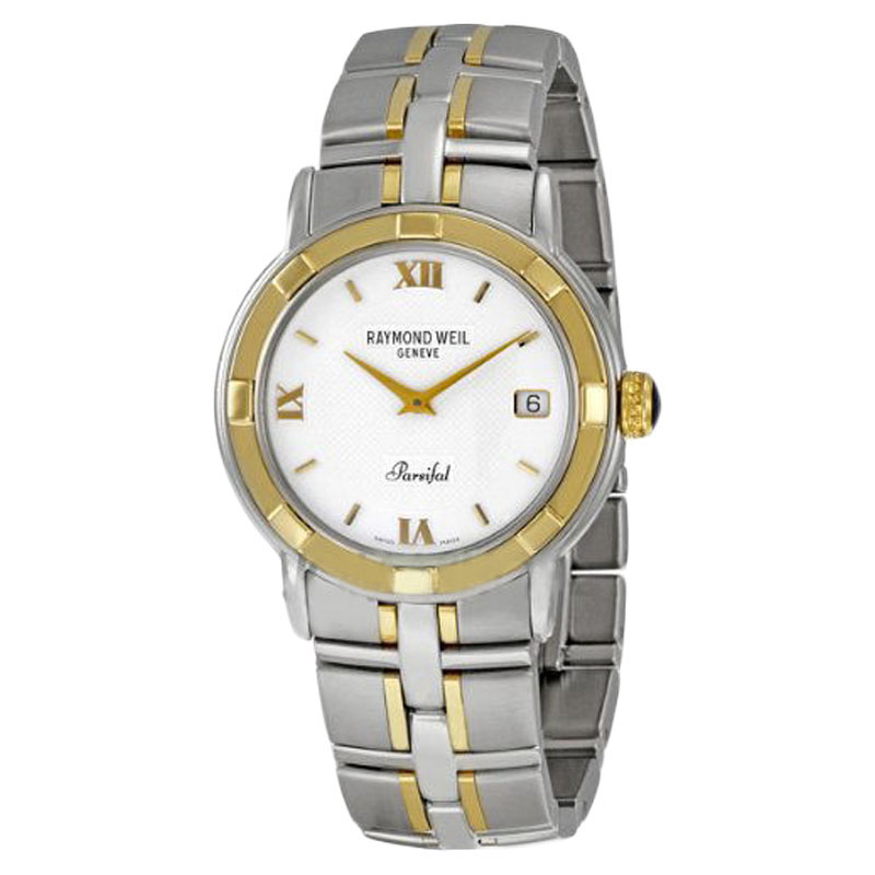 "Image of ""Raymond Weil 9540-Stg-00307 Parsifal Two-tone Men's Watch"""