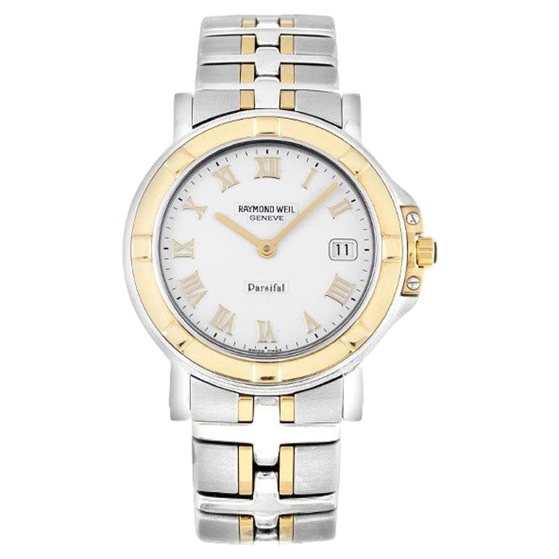 "Image of ""Raymond Weil 9530-Stg-00308 Parsifal Steel 18K Yellow Gold Quartz"""