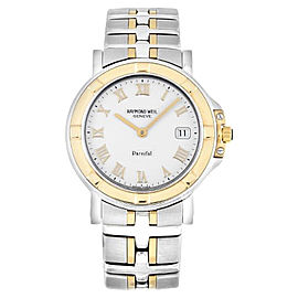 Raymond Weil 9530-STG-00308 Parsifal Steel 18K Yellow Gold Quartz Watch