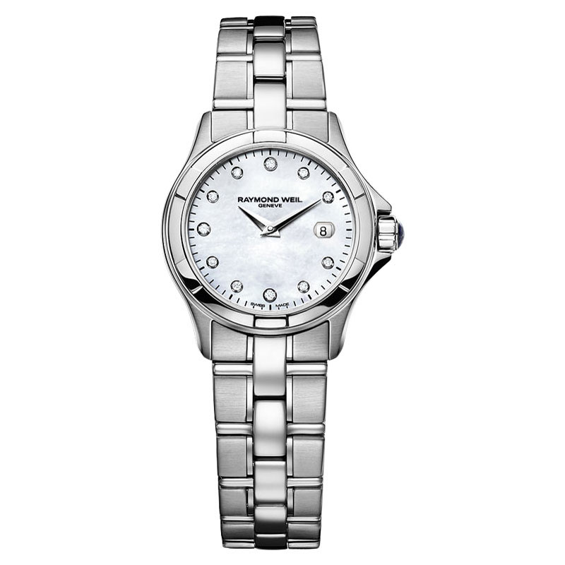 "Image of ""Raymond Weil 9460-St-97081 Mother-Of-Pearl Dial Womens Watch"""