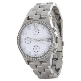 Marc by Marc Jacobs MBM3072 Chronograph Crystal Accented Womens Watch