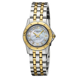 Raymond Weil 5790-STP-00995 Mother of Pearl Two Tone Womens Watch