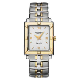 Raymond Weil 9730-STG-00307 White Dial Two Tone Parsifal Ladies Watch