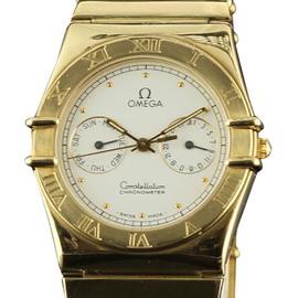 Omega Constellation 1102.30.00 18K Yellow Gold Quartz Watch
