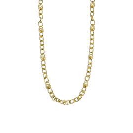 Michael Kors Gold Logo Long Necklace