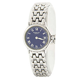 Raymond Weil 5377 Stainless Steel and Sapphire Blue Dial 26mm Watch