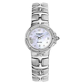 Raymond Weil 9995-PD White Mother Of Pearl Diamond Dial Quartz Watch