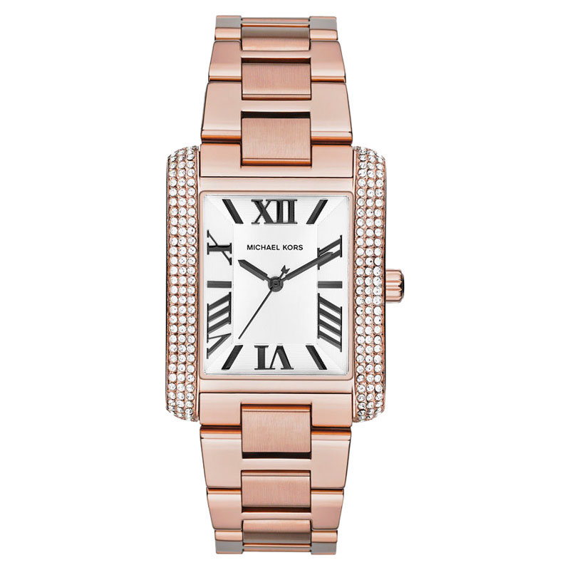 "Image of ""Michael Kors Mk3255 Rose Gold-tone Stainless Steel Emery Bracelet"""
