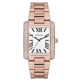 Michael Kors MK3255 Rose Gold-tone Stainless Steel Emery Bracelet Watch
