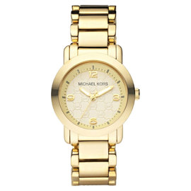 Michael Kors MK3158 Champagne Dial Gold Tone Stainless Women's Watch