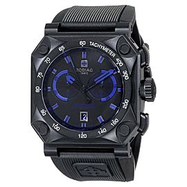 Zodiac ZO8538 ZMX Adventure Chrono Analog Display Swiss Quartz Black Mens Watch