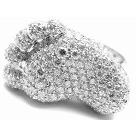 Pasquale Bruni 18K Whie Gold Diamond Ring
