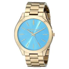 Michael Kors Slim Runway MK3265 Gold-Tone Stainless Steel Women's Watch