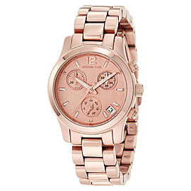 Michael Kors MK5430 Chronograph Rose Gold Tone Quartz Analog Women's Watch