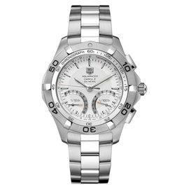 Tag Heuer 300M Aquaracer CAF7011.BA0815 Calibre S Silver Dial Men's Watch