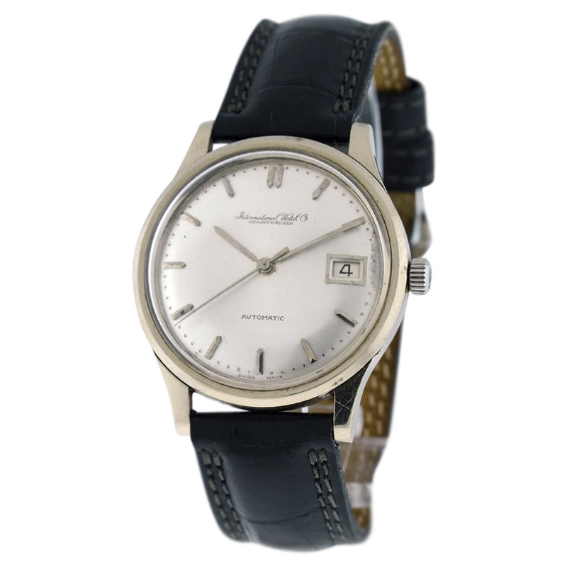 """Image of """"IWC Classic Stainless Steel 34mm Automatic Mens Watch"""""""