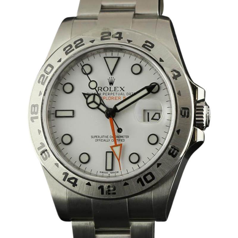 "Image of ""Rolex New Explorer II 216570 Stainless Steel 2016 Watch"""